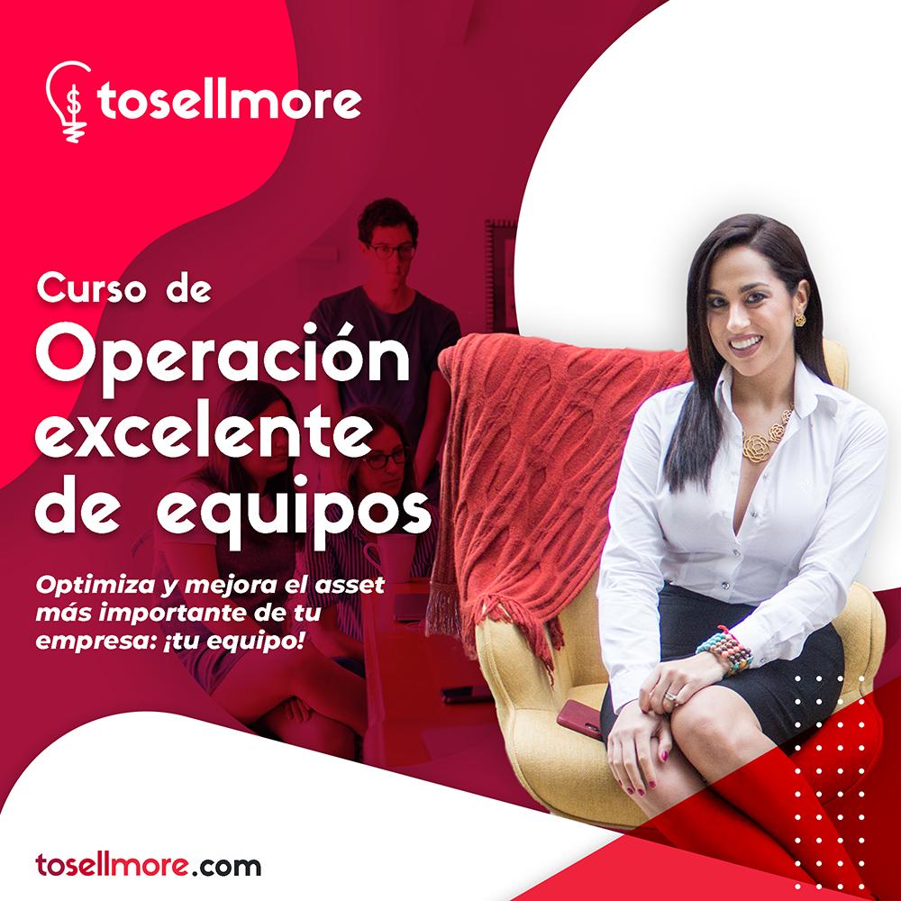 Curso Operación Excelente de Equipos - To Sell More